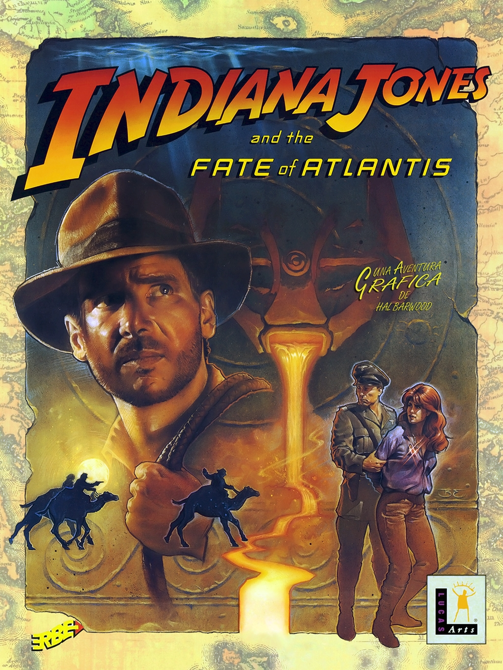 indiana jones and the fate of atlantis ending a relationship