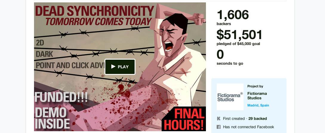 Kickstarter succeeded!
