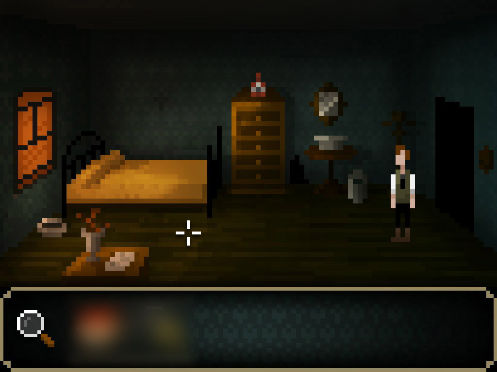 Of course the inventory is blurred... Solve the puzzles yourself! ;)